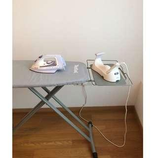 Philips Azur 2 in 1 Cordless Iron & Tefal Ironing Board