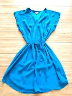 Stunning turquoise knee length dress