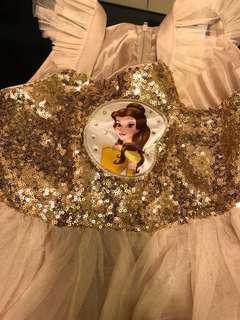 迪士尼正版公主裙100%全新未拆牌