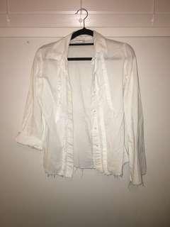 Roxy button up shirt