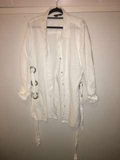 Decjuba button up shirt with detailing