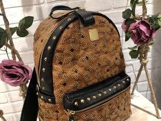 MGM studded backpack