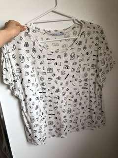 Zara T shirt szS