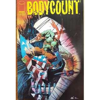 BODYCOUNT NIGHTMARE THEATER - mixed 4 comics (Offer item no 020)