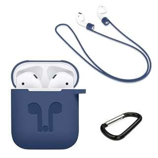 Apple AirPods Silicone Case for Airpods Headset Protective Case Accessories Suit
