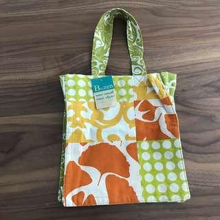 Balinese Cotton Small Fabric Tote Lunch Mini Bag @sunwalker