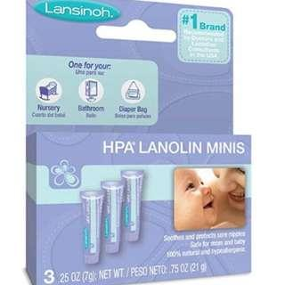 Lansinoh Nipplecreams for Breastfeeding (Minis)