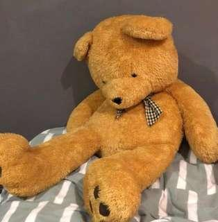 MAKE AN OFFER: Giant Teddy Bear over 1meter tall