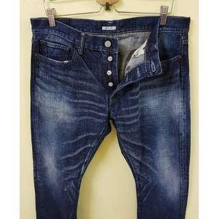 W36 ETERNAL Comfortable Japan Jeans. (Original)