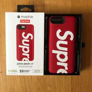 Supreme x Mophie F/W ss18 iPhone 7plus / 8plus Charging Case