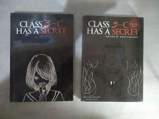 Class 3-C Has A Secret wattpad book