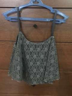 99 peso sale Lace crop top
