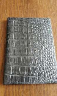 Harry Winston leather passport cover