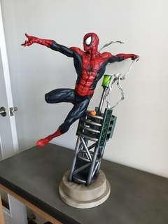 KA painted Sosa Classic Spiderman Statue