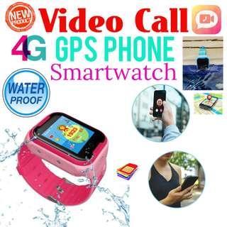 4G GPS Tracking Phone Kids Watch - Waterproof