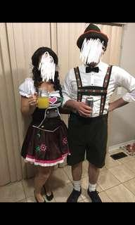 Hansel & German Girl HALLOWEEN Costume