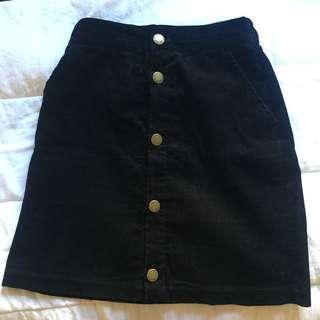 NWT Japanese Corduroy Skirt