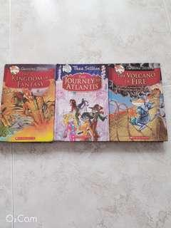 GERONIMO STILTON BOOKS (HARD COVER)