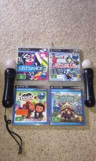 Motion games and controllers // PS3