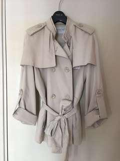 Kenneth Lady Trench Coat Size 40
