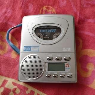 快譯通 KT-288M 正常可用 錄音播放 磁帶機