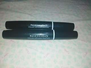 NICHIDO EYEDEFINING MASCARA BLACK AND BLUE