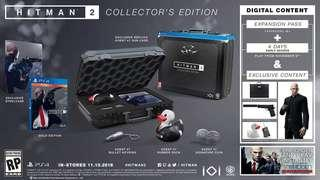 Hitman 2 Collector's Edition Preorder