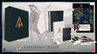 Assassin's Creed Odyssey Platinum Edition Guidebook