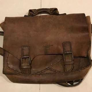 Vintage Leather Handcrafted Bag, Leatherman