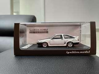 Ignition 1:43 Toyota AE 86 IG