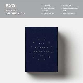 EXO 2019 Season Greetings