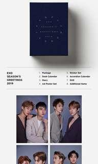 EXO SEASON GREETINGS 2019