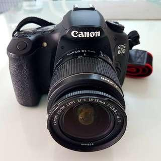CANON EOS 60D With 18-55 IS II Kit lens  90% looks new 📷