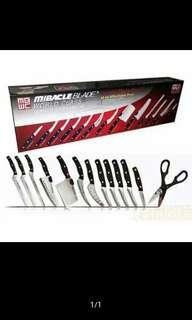 Miracle Blade Complete Chef Kitchen knife set