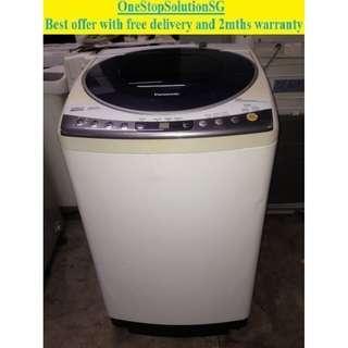 Panasonic 9.0kg, (Inverter) washing machine / washer ($220 + free delivery & 2mths warranty)