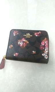 LOWEST PRICE! Authentic COACH floral wallet