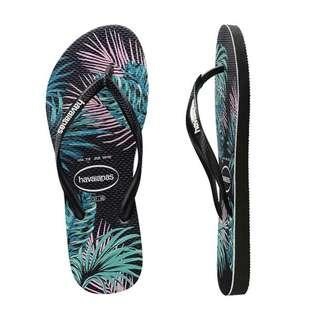 Authentic Havaianas Woman Slim Tropical/ Nautical/ Princess