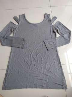 Sexy shoulder tshirt size S