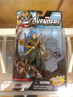 HASBRO MARVEL AVENGER MOVIE SERIES - LOKI. (not Marvel Legends, DC, NECA, HOTTOYS)