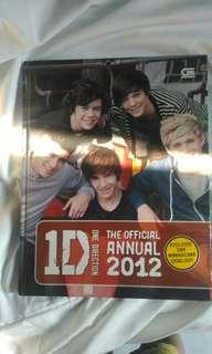 ONE DIRECTION OFFICIAL ANNUAL 2012 IND