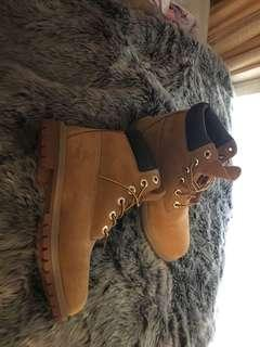 Timberlands size us 6 womens