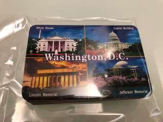 Washington DC cards