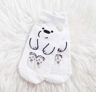 Ice bear socks