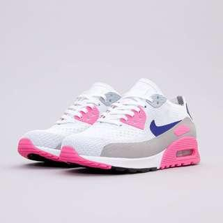 Original Nike womens Air Max 90 Ultra 2.0 Flyknit rose