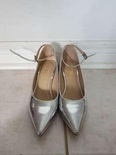 Women's Silver Heels
