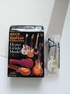 BECK guitar collection1/12 Hyper Grade Model結他
