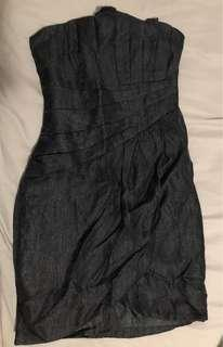 H&M Black tube dress