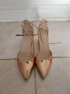 Women's Rose Gold Heels