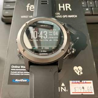 Fenix 3 HR Sapphire Edition