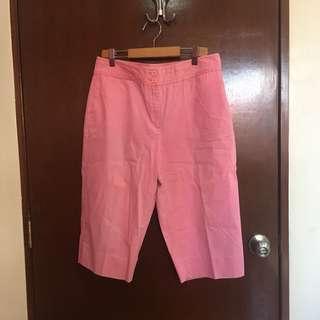 Pink Capri Pants